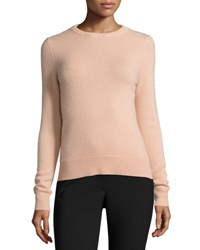 Theory Salomina Cashmere Tie Back Sweater Pale Rose