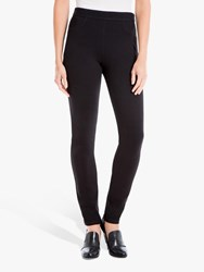 Max Studio Ponte Trousers Black