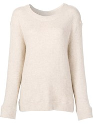 The Elder Statesman 'Davide ' Jumper White