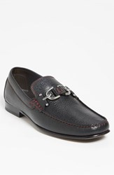 Donald J Pliner Men's 'Dacio Ii' Loafer Black Black Leather