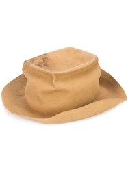 Horisaki Design And Handel Easy Burnt Hat Men Rabbit Felt One Size Brown