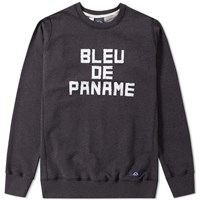 Bleu De Paname Logo Sweat Blue