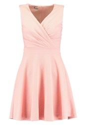 Wal G G. Jersey Dress Pale Pink Rose