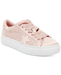 Madden Girl Starstruck Lace Up Sneakers Women's Shoes Blush
