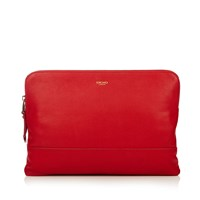 Knomo Mayfair Luxe Davies Ipad Tablet Cross Body Red Red