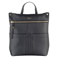 Radley Kensal Leather Backpack Black