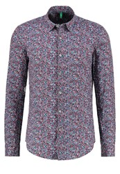 United Colors Of Benetton Shirt Multico Red Multicoloured