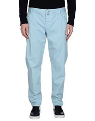 Luigi Borrelli Napoli Trousers Casual Trousers Men Sky Blue