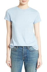 Vince Women's Boy Crewneck Tee Chambray