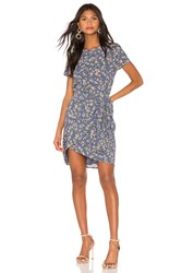 1.State Heritage Bouquet Tie Front Dress Blue