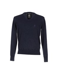 Hydrogen Knitwear Jumpers Men Slate Blue