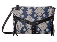Botkier Trigger Crossbody Indigo Jeans Cross Body Handbags Blue