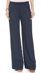 Splendid Woven Wide Leg Pants Navy