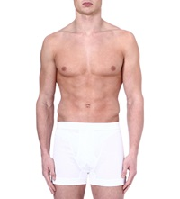 Zimmerli Royal Classic Cotton Boxers Whit White