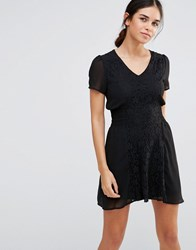 Pussycat London Lace Dress Black