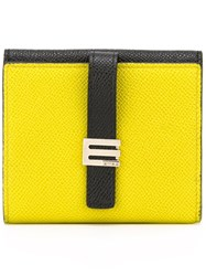 Etro Clip Wallet Yellow And Orange