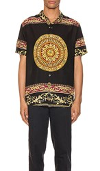 Rolla's Bon Shirt In Black. Black And Gold