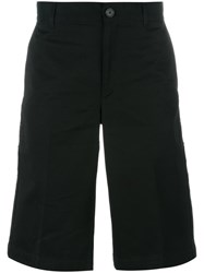 Givenchy Star And Stripe Patch Bermuda Shorts Black