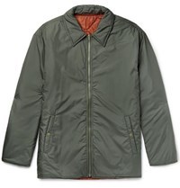 Our Legacy Reversible Shell Blouson Jacket Green