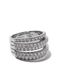 De Beers 18Kt White Gold Fine Line Diamond Ring Unavailable