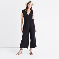 Madewell Waikiki Cover Up Jumpsuit True Black