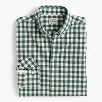 J.Crew Slim Secret Wash Shirt In Medium Gingham