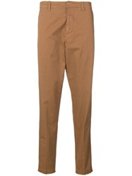 Macchia J Side Stripe Chinos Brown