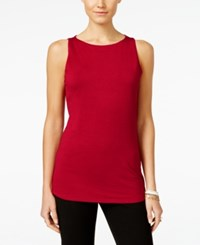 Inc International Concepts Boat Neck Tank Top Only At Macy's Glazed Berry