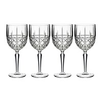 Waterford Marquis Brady Wine Glasses Set Of 4