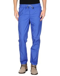 Msgm Casual Pants Sky Blue