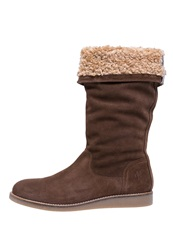 Marc O'polo Wedge Boots Brown