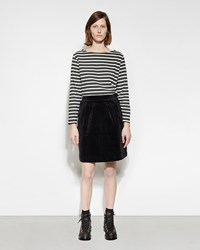 Mhl By Margaret Howell Side Button Skirt Black