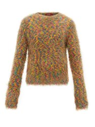 Sies Marjan Roman Crew Neck Sweater Orange Multi