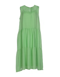 G.Sel Dresses 3 4 Length Dresses Women Light Green