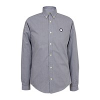 Pretty Green Glendale Gingham Shirt Navy