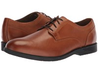 Hush Puppies Shepsky Pt Oxford Dark Tan Leather Shoes Brown