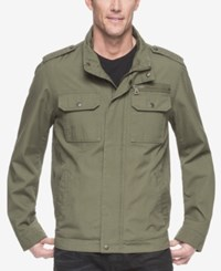G.H. Bass And Co. Men's Military Inspired Jacket Olive