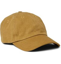 Folk Cotton Twill Baseball Cap Brown