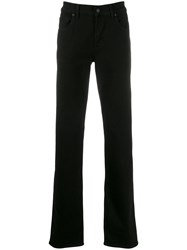 7 For All Mankind Colour Block Regular Jeans Black