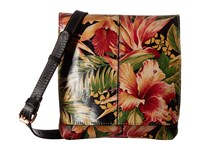 Patricia Nash Granada Crossbody Cuban Tropical Black Cross Body Handbags Multi