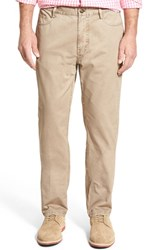 Men's Vineyard Vines 'Saltwash' Straight Leg Cotton Pants Khaki