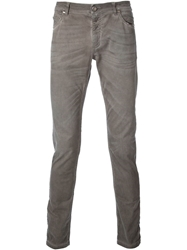 Tom Rebl Skinny Fit Jeans Grey
