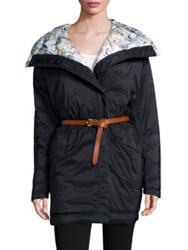 Helly Hansen Embla Belted Down Wrap Coat Navy
