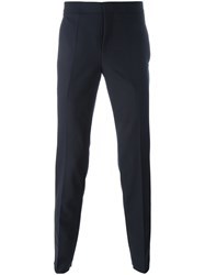 Neil Barrett Side Stripe Trousers Blue