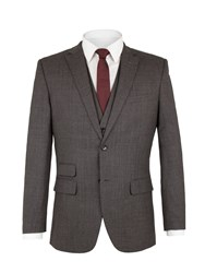 Racing Green Men's Spencer Check Jacket Charcoal
