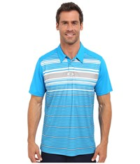 Oakley Legacy Polo Pacific Blue Men's Short Sleeve Pullover