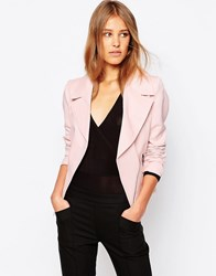 Closet Zip Detail Jacket Pink