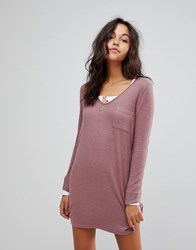 Abercrombie And Fitch Cosy Dress Pink