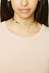 Forever 21 Skinny Mirrored Metal Choker