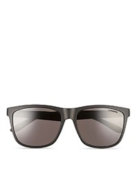 Carrera 8022 S Matte Wayfarer Sunglasses 56Mm Black
